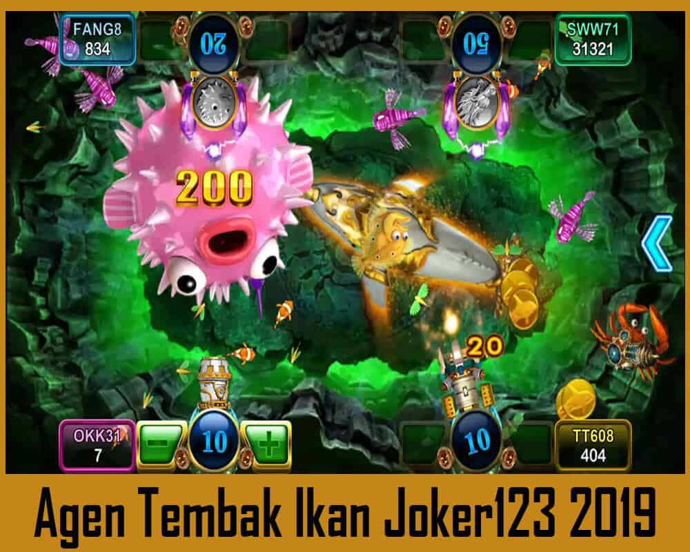 Agen Tembak Ikan Joker123 Bonus Deposit