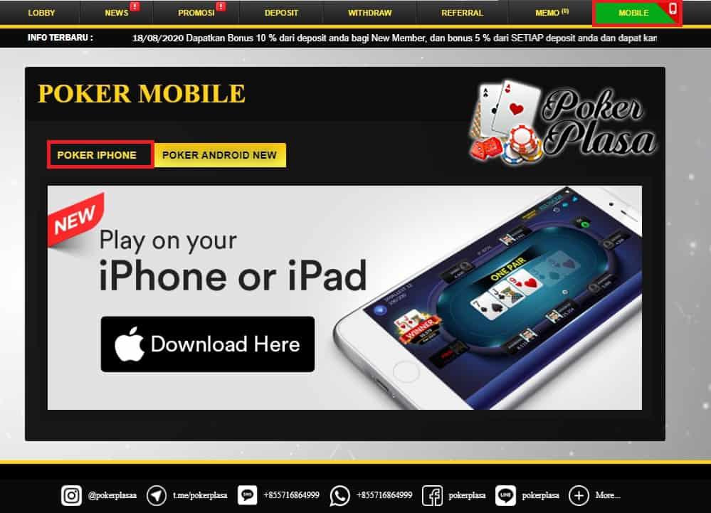 Cara Download APK Taruhan Kartu iOS